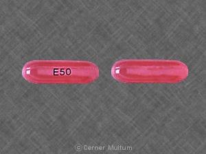Imprint E50 - etoposide 50 mg