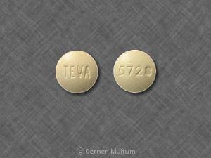 Image 1 - Imprint 93 896 - famotidine 20 mg