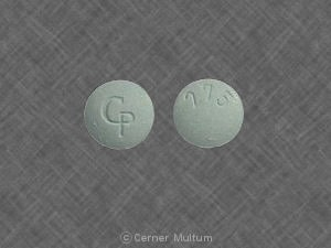 Image 1 - Imprint CP 275 - Fiorpap 325 mg / 50 mg / 40 mg