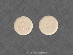Imprint 150 N 548 - fluconazole 150 mg