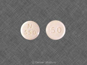 Imprint 50 N 550 - fluconazole 50 mg
