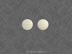 Image 6 - Imprint GG 771 - glipizide 5 mg