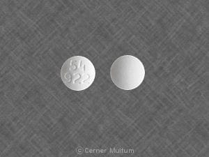 Imprint 54 922 - granisetron 1 mg