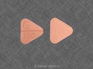 Imprint G 220 - hydrochlorothiazide/quinapril 12.5 mg/ 20 mg