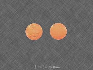 Image 1 - Imprint SL 327 - hydralazine 25 mg