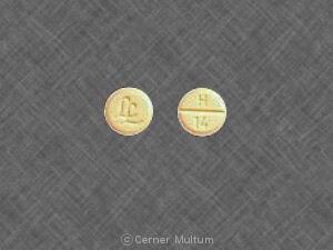 Image 3 - Imprint LL H 14 - hydrochlorothiazide 25 mg