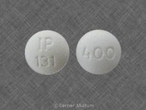 Image 1 - Imprint IP 131 400 - ibuprofen 400 mg