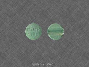 Image 1 - Imprint WYETH 4192 - Isordil Titradose 40 mg