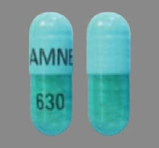 Imprint AMNEAL 630 - itraconazole 100 mg
