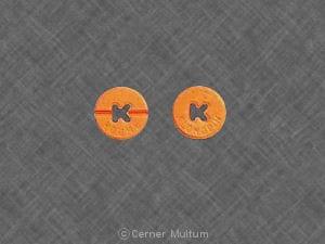 Imprint K ROCHE 1/2 K KLONOPIN - Klonopin 0.5 mg