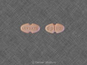 LEVOXYL dp 112 - Levoxyl
