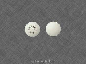 Image 1 - Imprint LEXXEL 1 5-5 - Lexxel 5 mg / 5 mg
