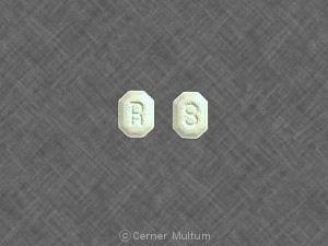 Image 1 - Imprint R 8 - Lozol 2.5 mg