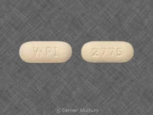 Image 1 - Imprint WPI 2775 - metformin 850 mg