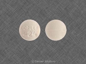 COPLEY 424 - Methazolamide