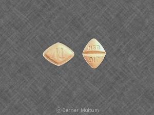 Image 1 - Imprint M MSD 917 - Moduretic 5-50 5 mg / 50 mg