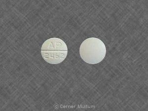 Image 1 - Imprint AP 2462 - nadolol 40 mg