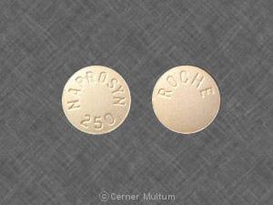 Imprint NAPROSYN 250 ROCHE - Naprosyn 250 mg