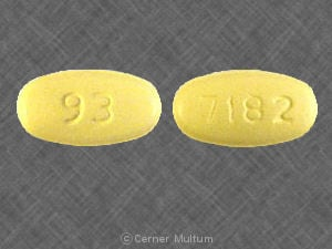 Imprint 7182 93 - ofloxacin 400 mg