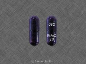 082 IMPAX 20 - Omeprazole Delayed Release