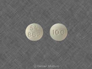 Image 1 - Imprint 54 862 100 - Oramorph SR 100 mg