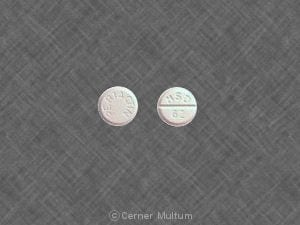 Image 1 - Imprint PERIACTIN MSD 62 - Periactin 4 mg