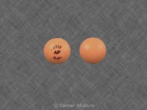 Imprint 6910 AP 10mEq - potassium chloride 10 mEq (750 mg)