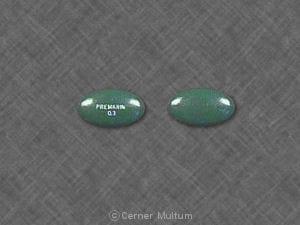Image 6 - Imprint PREMARIN 0.3 - Premarin 0.3 mg