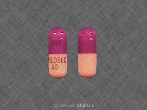 Image 3 - Imprint 743 PRILOSEC 40 - Prilosec 40 mg
