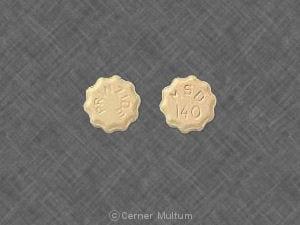 Image 1 - Imprint MSD 140 PRINZIDE - Prinzide 12.5 mg / 20 mg
