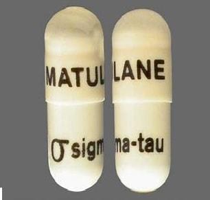 Imprint MATULANE Logo sigma-tau - Matulane 50 mg