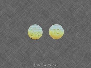 Imprint INV 276 10 - prochlorperazine 10 mg