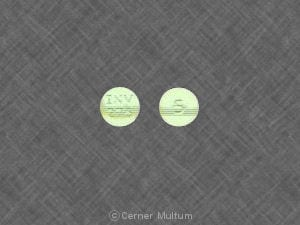 Image 1 - Imprint INV 275 5 - prochlorperazine 5 mg