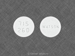Imprint 715 260 WATSON - quinine 260 mg