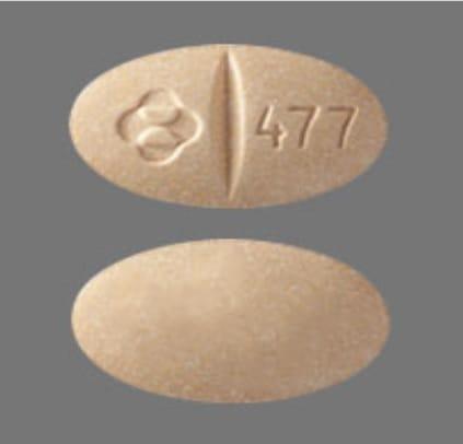 Imprint Logo 477 - Isentress 100 mg