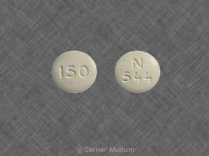Image 1 - Imprint N 544 150 - ranitidine 150 mg