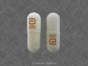 Imprint a 225 - Rythmol SR 225 mg