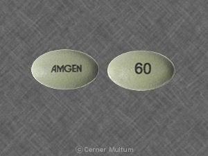 Imprint AMGEN 60 - Sensipar 60 mg