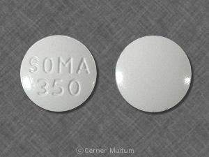 Imprint SOMA 350 - Soma 350 mg