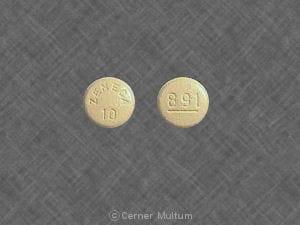 Image 1 - Imprint ZENECA 10 891 - Sular 10 mg
