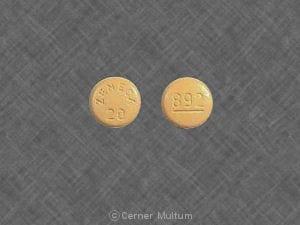 Imprint ZENECA 20 892 - Sular 20 mg