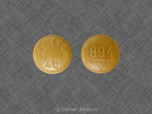 Imprint 894 ZENECA 40 - Sular 40 mg