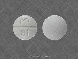 Imprint MP 81 - sulfamethoxazole/trimethoprim 400 mg / 80 mg