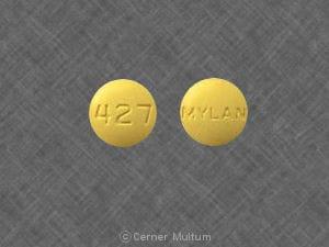 Imprint 427 MYLAN - sulindac 150 mg