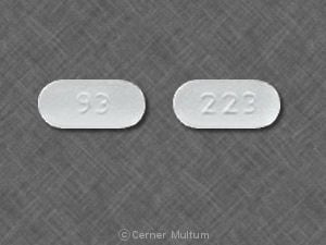 Imprint 93 223 - sumatriptan 50 mg