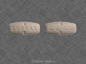 Image 1 - Imprint SUPRAX LL 400 - Suprax 400 mg