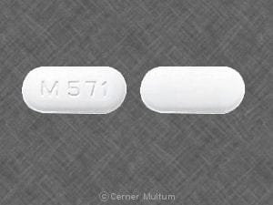 Imprint M 571 - terbinafine 250 mg