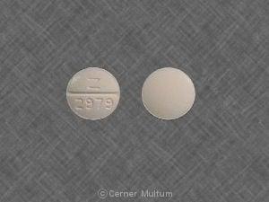 Image 1 - Imprint Z 2979 - tolazamide 250 mg