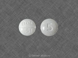 Imprint 5 par 651 - torsemide 5 mg