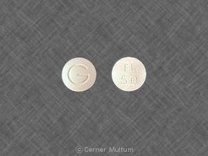Imprint G TL 50 - tramadol 50 mg